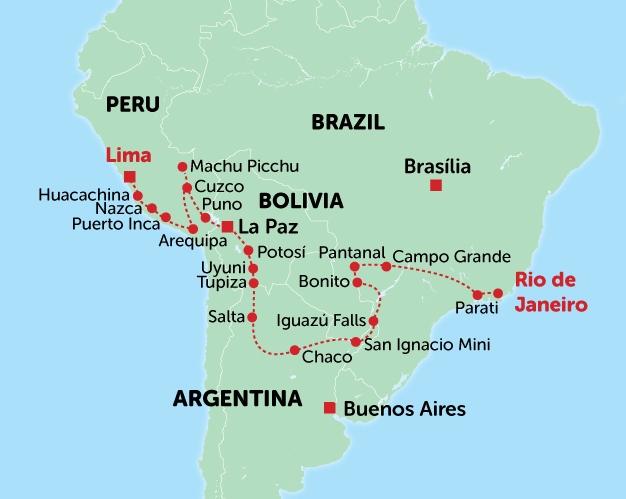 South America Adventure Tour