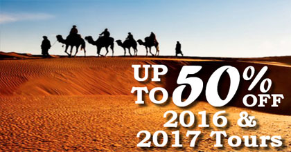 Up to 50% off TravelTalk tours!!